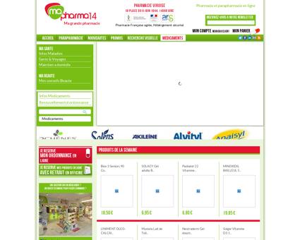 Bienvenue sur le site de mapharma14.fr...