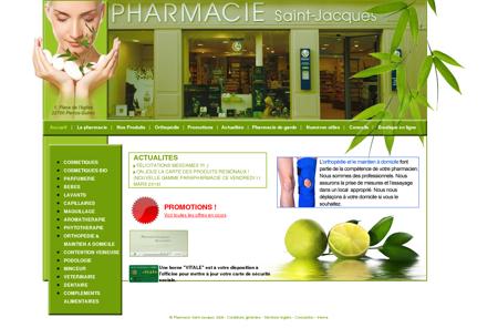 Pharmacie Saint Jacques place de l'église...