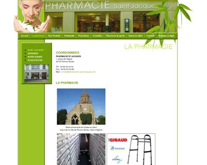 Pharmacie Saint Jacques place de léglise...