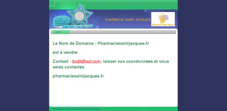 Accueil - Pharmacie Saint Jacques