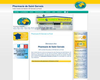 Univers Pharmacie St Gervais La Foret |...