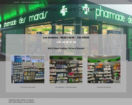 Pharmacie Saint Gratien -