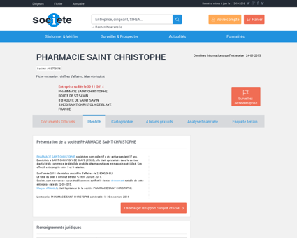 PHARMACIE SAINT CHRISTOPHE (SAINT...