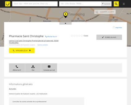 Pharmacie Saint Christophe Tourcoing...