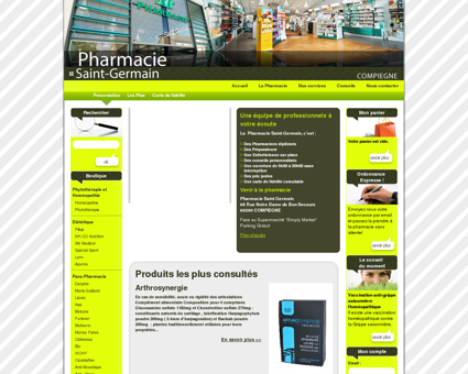 Pharmacie Saint-Germain : La Pharmacie