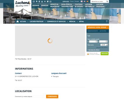 Pharmacie de garde - BAGNERES DE LUCHON...