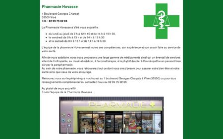Pharmacie Hovasse - Vitré