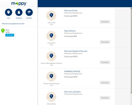 Pharmacie et parapharmacie à Vitré (35500)