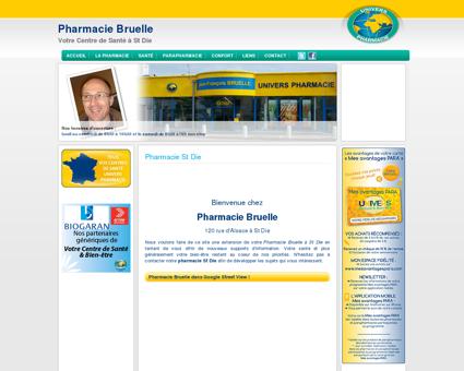 Pharmacie St Die - Pharmacie Bruelle