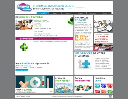 pharmacie du chateau selarl - Votre pharmacie...