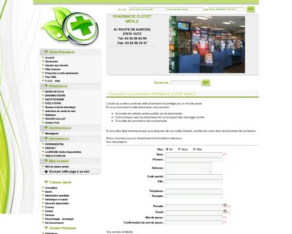 Pharmacie Cleyet Merle, 57970 Yutz