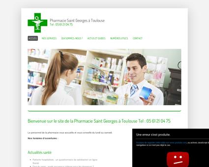 Pharmacie Saint Georges à Toulouse Tel : 05...