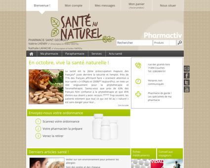 Pharmacie Saint Georges, 71490 Couches -...