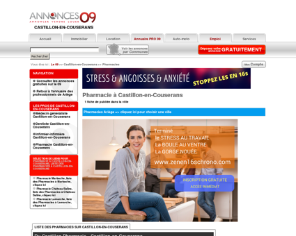 Pharmacie à Castillon-en-Couserans (09800),...