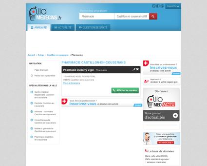 Pharmacie Castillon-en-couserans