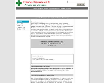 Pharmacie Saint Félix - Le Gosier - 971...