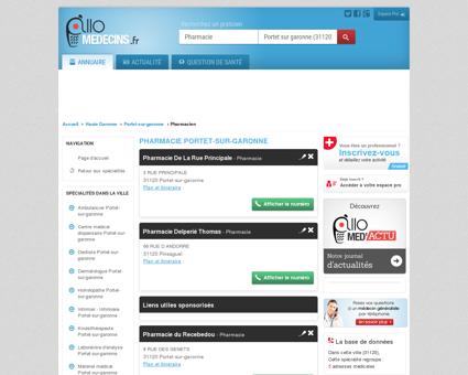 Pharmacie Portet-sur-garonne - Médecin -...