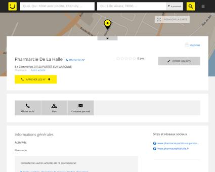 Pharmacie de La Halle Portet sur Garonne...