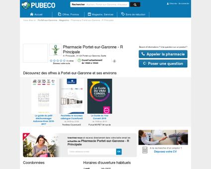 Pharmacie Portet-sur-Garonne - R Principale -...