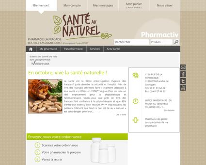 Pharmacie Lauragaise, 31290 Villefranche-de...