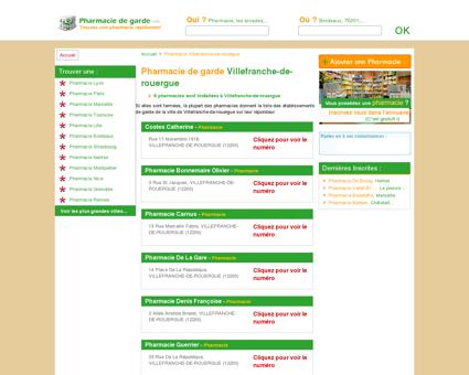 Pharmacie Villefranche-de-rouergue - Trouvez...