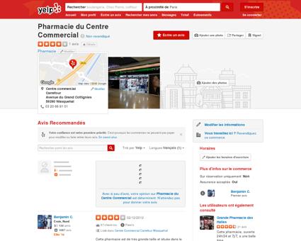 Pharmacie du Centre Commercial - Pharmacie ...