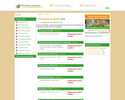 Pharmacie Vire