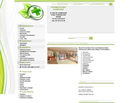 Pharmacie Parc Champagne, 07300 Tournon...
