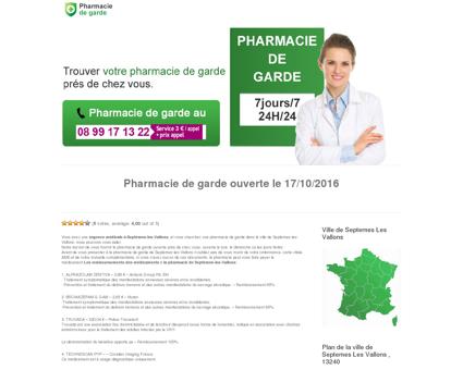 Ville de Septemes Les Vallons - Pharmacie de...