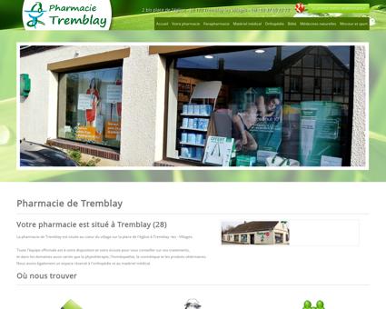 Pharmacie de Tremblay situé à Tremblay les...