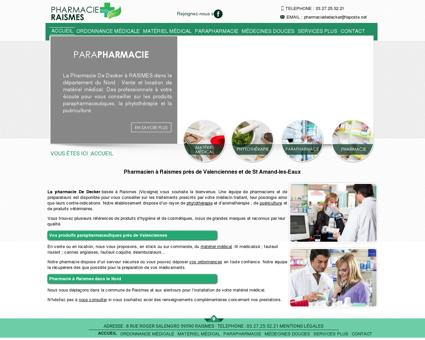 pharmacie-raismes.fr - Pharmacien à Raismes...