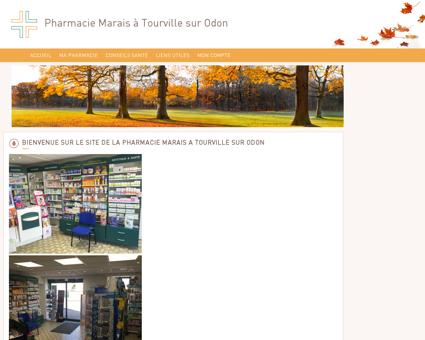 Pharmacie Marais à Tourville sur Odon - Accueil