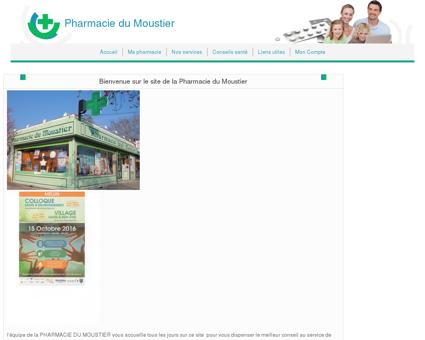 Pharmacie du Moustier - Accueil