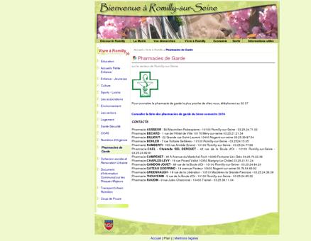 Pharmacies de Garde - Bienvenue sur le site...