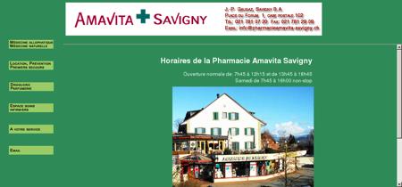 Pharmacie Amavita Savigny