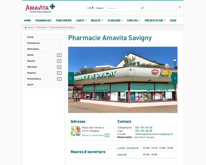 Pharmacie Amavita Savigny - Pharmacies...