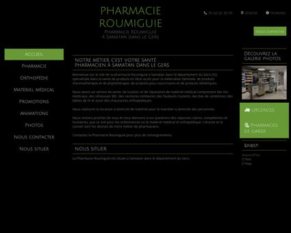 Pharmacie Roumiguié à Samatan dans le Gers...