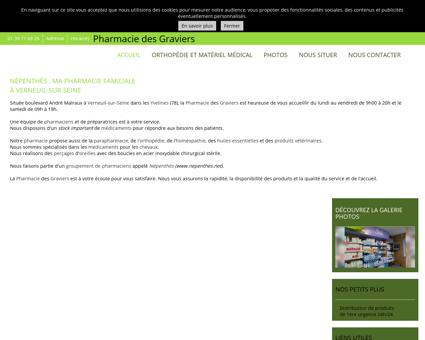 La Pharmacie des Graviers à Verneuil-sur...