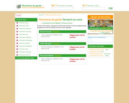 Pharmacie Verneuil-sur-avre - Trouvez une...
