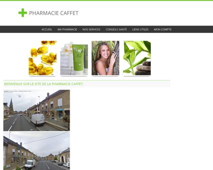 Pharmacie Caffet - Accueil