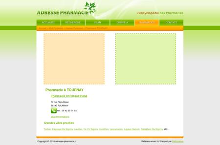 Pharmacie à TOURNAY