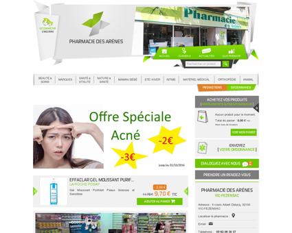 Home | Pharmacie des Arènes - Votre...