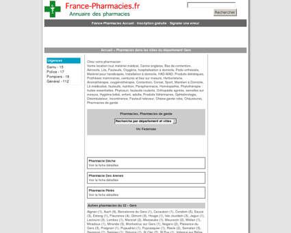 Pharmacies, pharmacie de garde - Vic...
