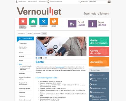 Santé - Mairie de Vernouillet