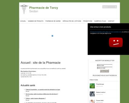 Pharmacie de Torcy | Sedan