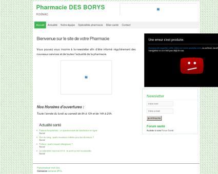 Pharmacie DES BORYS