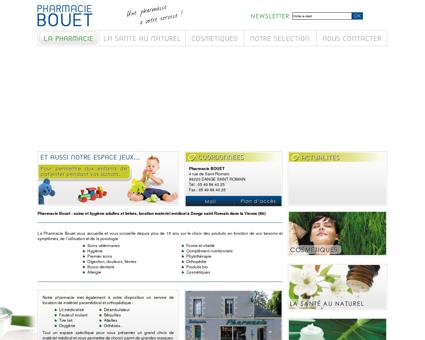 Pharmacie Bouet, cosmétiques et location de...