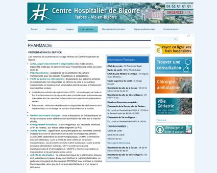 Pharmacie - CH de Bigorre
