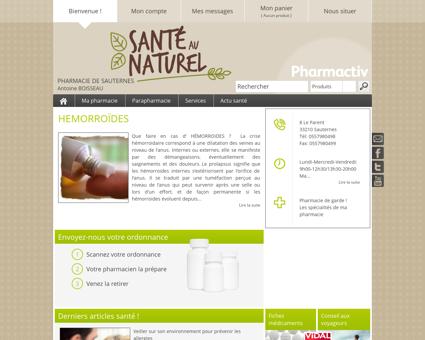 Pharmacie De Sauternes, 33210 Sauternes -...