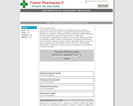Pharmacies, pharmacie de garde - Vauvert -...